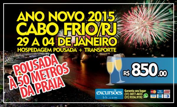 Reveillon 2015 – Cabo Frio/RJ